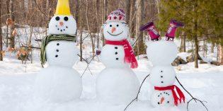 Come si fa un pupazzo di neve? Indicazioni passo passo
