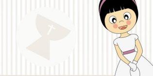Inviti digitali per la Prima Comunione da mandare via Whatsapp o via mail