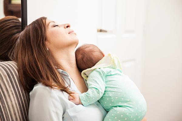 mamma e neonato 40 giorni post partum