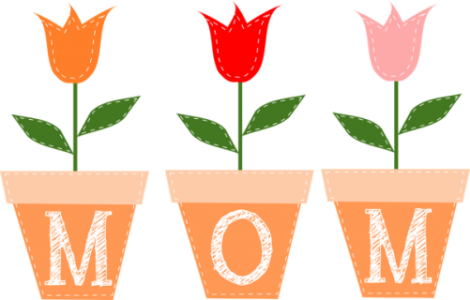 festa della mamma fiori da colorare