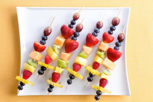 spiedini con la frutta
