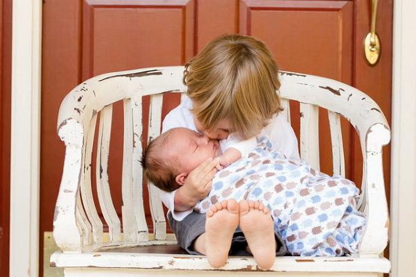 Mughetto nei neonati