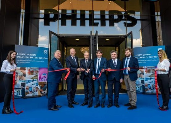 inaugurazione nuova sede philips smart working
