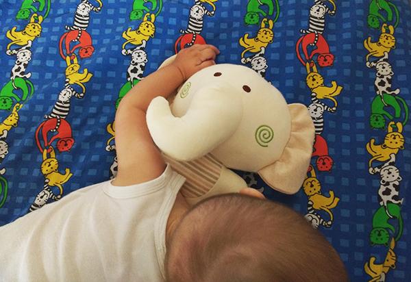 beMyBuddy neonato con elefantino