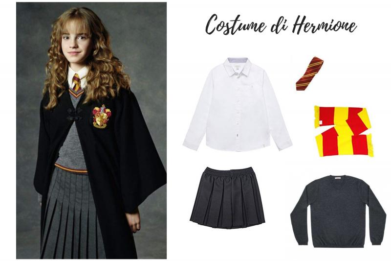 costume di hermione fai da te