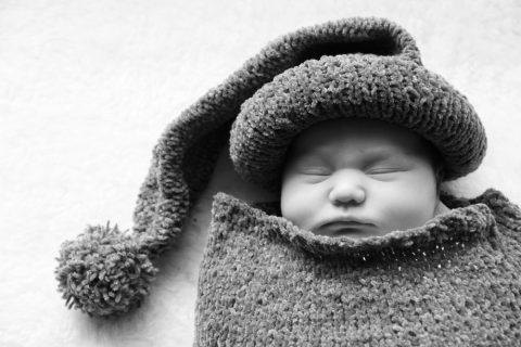 Vestire neonato in inverno