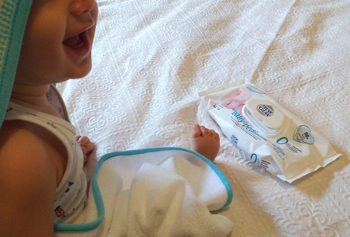 Salviettine Fresh&clean Baby Pediatric _2