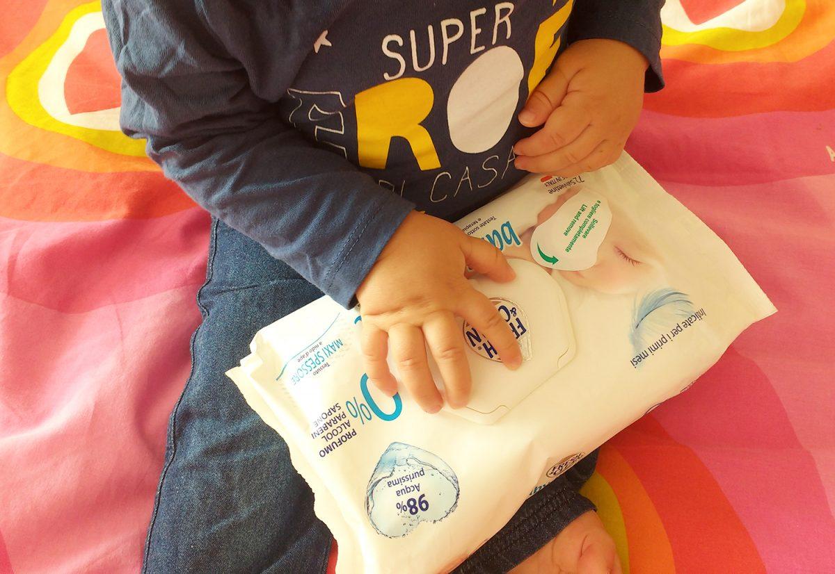 Salviettine Fresh&clean Baby Pediatric _3