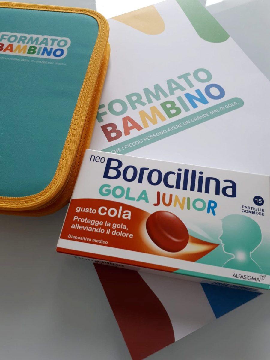 Neoborocillina junior mal di gola