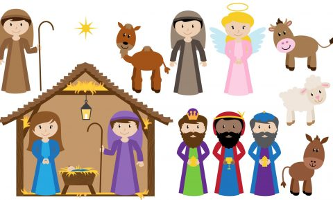 Ecco alcuni personaggi del Presepe da ritagliare, ideali per i lavoretti e le attività da fare con i bambini a Natale