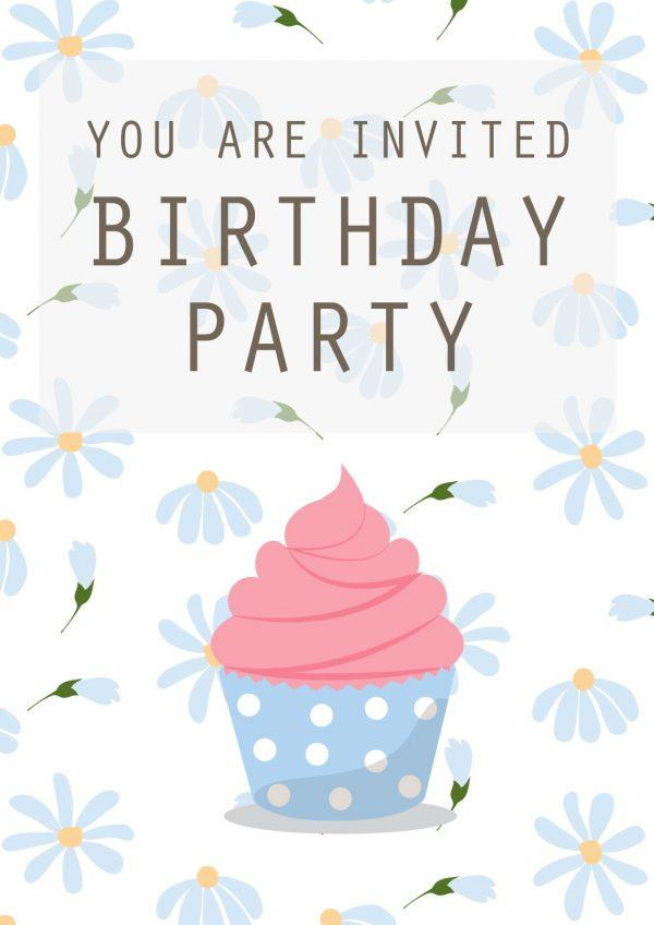 biglietti di invito per whatsapp a festa di compleanno