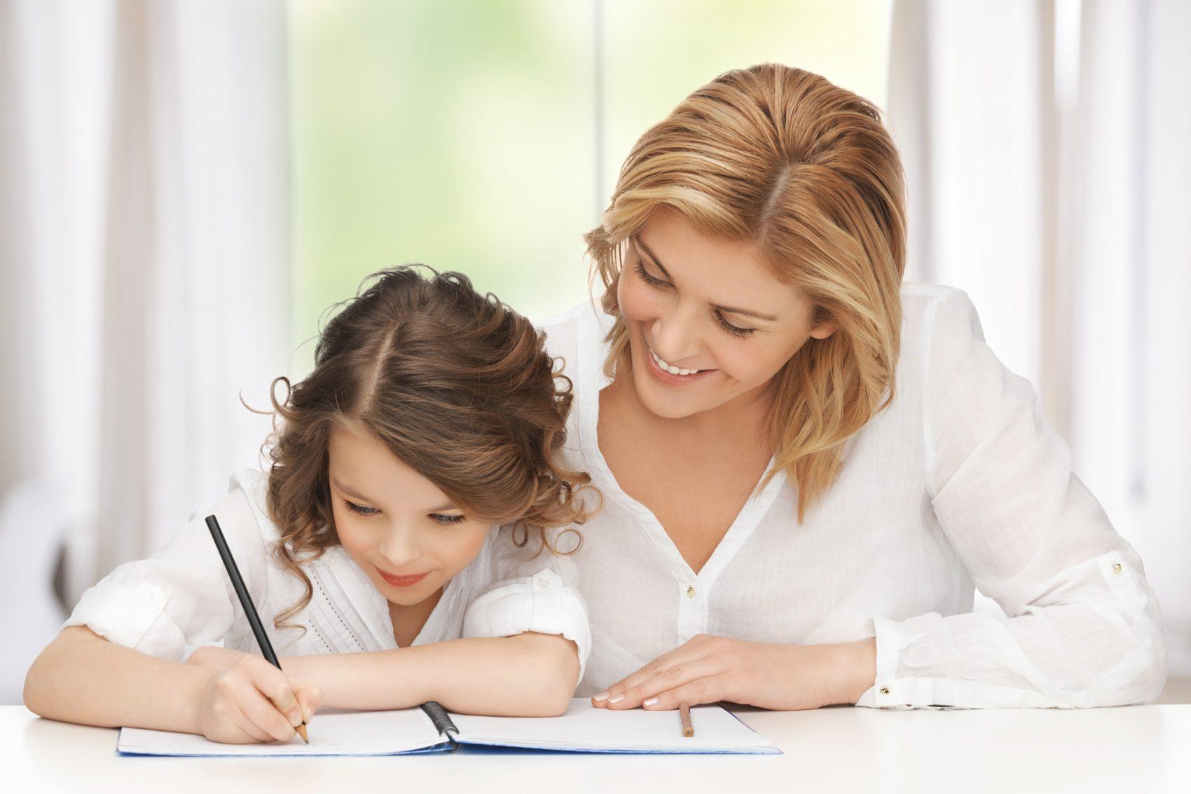 fare i compiti con i bambini