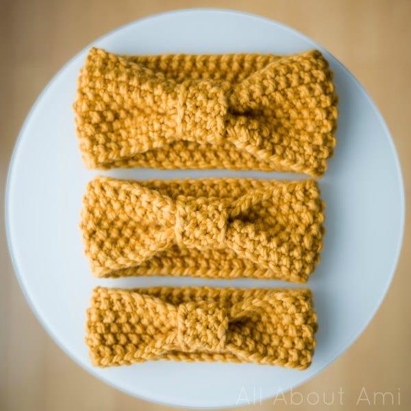 fascia di lana ai ferri
