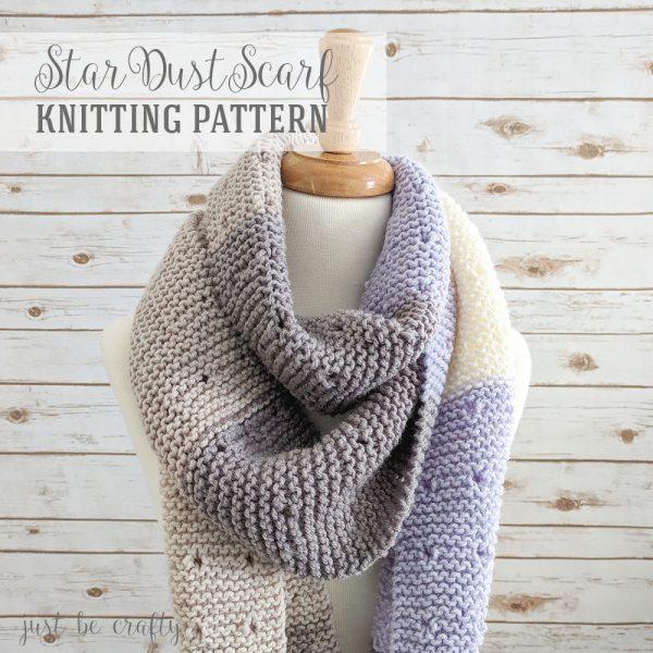 sciarpa di lana ai ferri facile pom pom