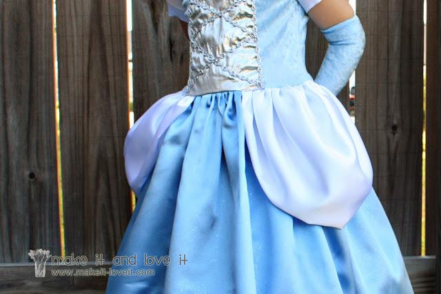 Costume da principessa fai da te Cenerentola