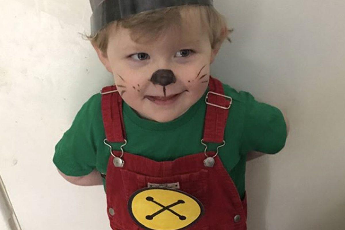 Vestito Carnevale Bing fai da te facile _ bambino mascherato da Bing