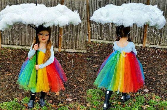 costume da arcobaleno