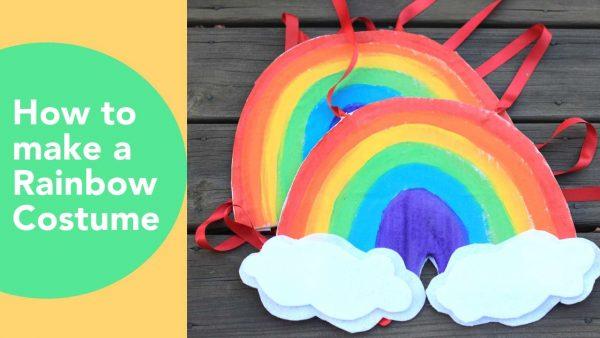 costume da arcobaleno fai da te