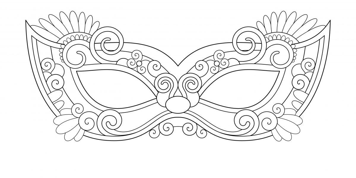 Maschere Di Carnevale Colorare Ritagliare Venezia 3 Blogmamma It