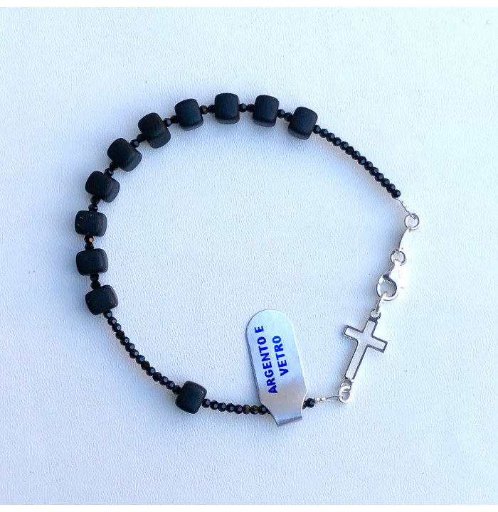 regali padrino cresima bracciale rosario