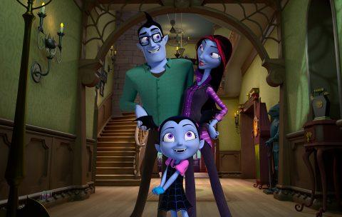 vestito Vampirina fai da te senza ago e filo _ vampirina con genitori