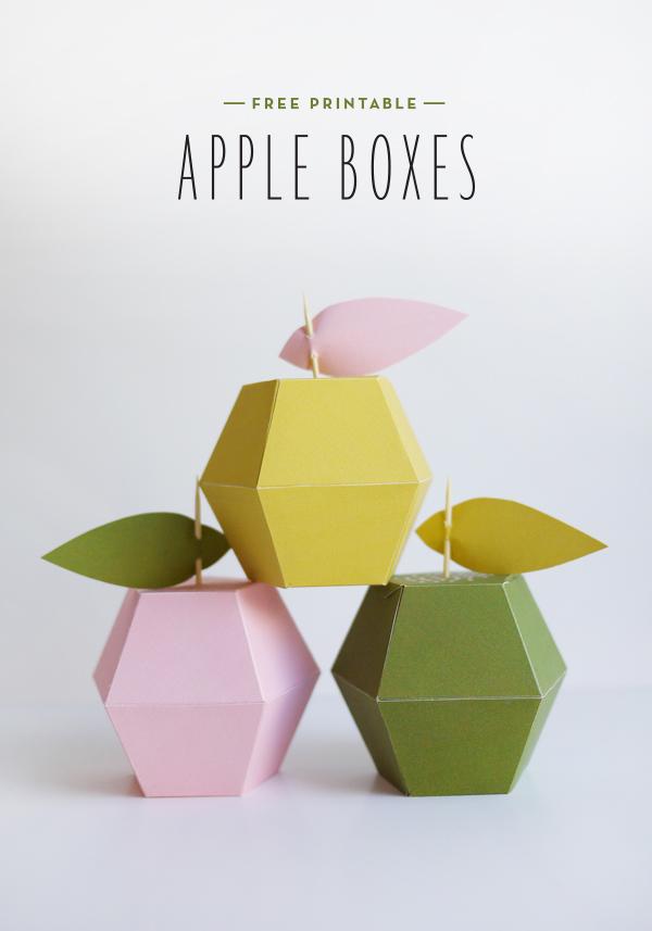 bomboniere a scatolina da stampare