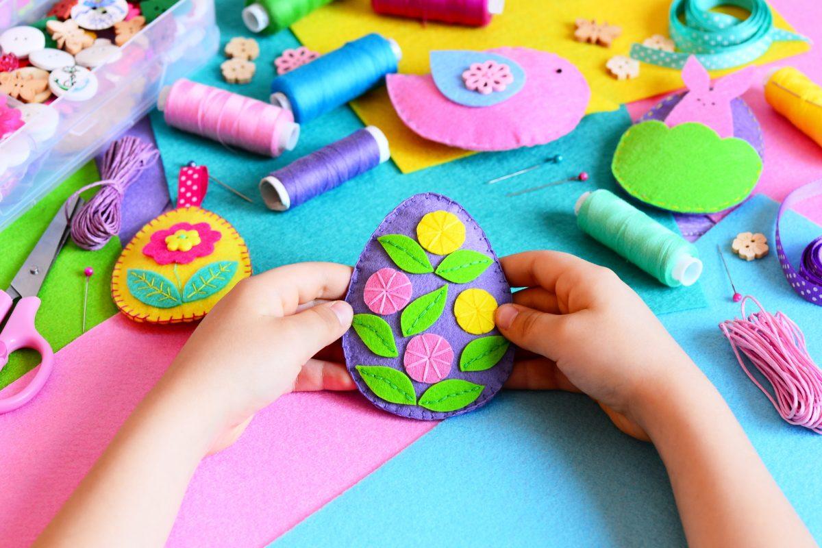 lavoretti di Pasqua con le uova