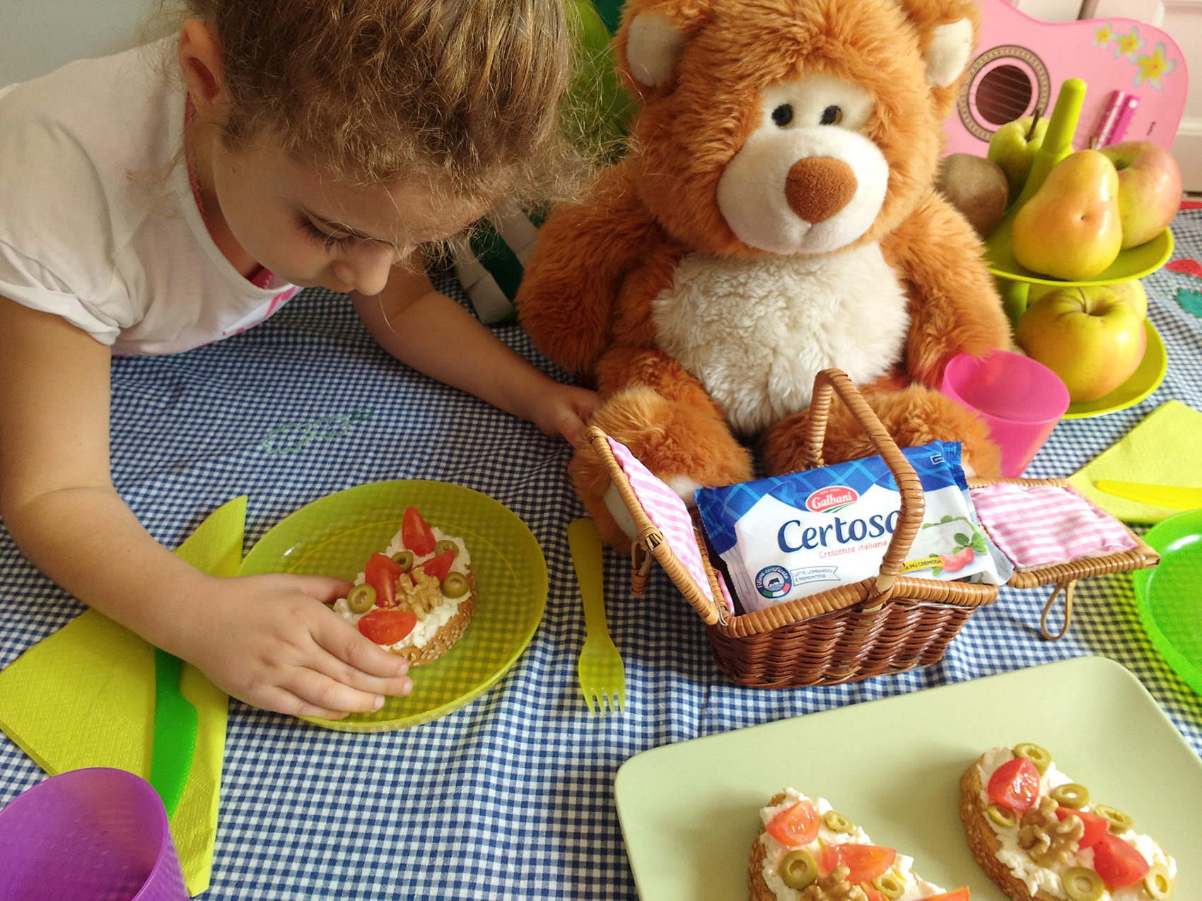 Merenda sana per i bambini con Certosa Galbani _ pic nic