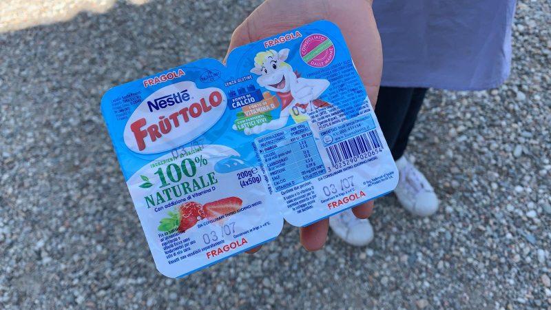 alimentazione bambini fruttolo merenda