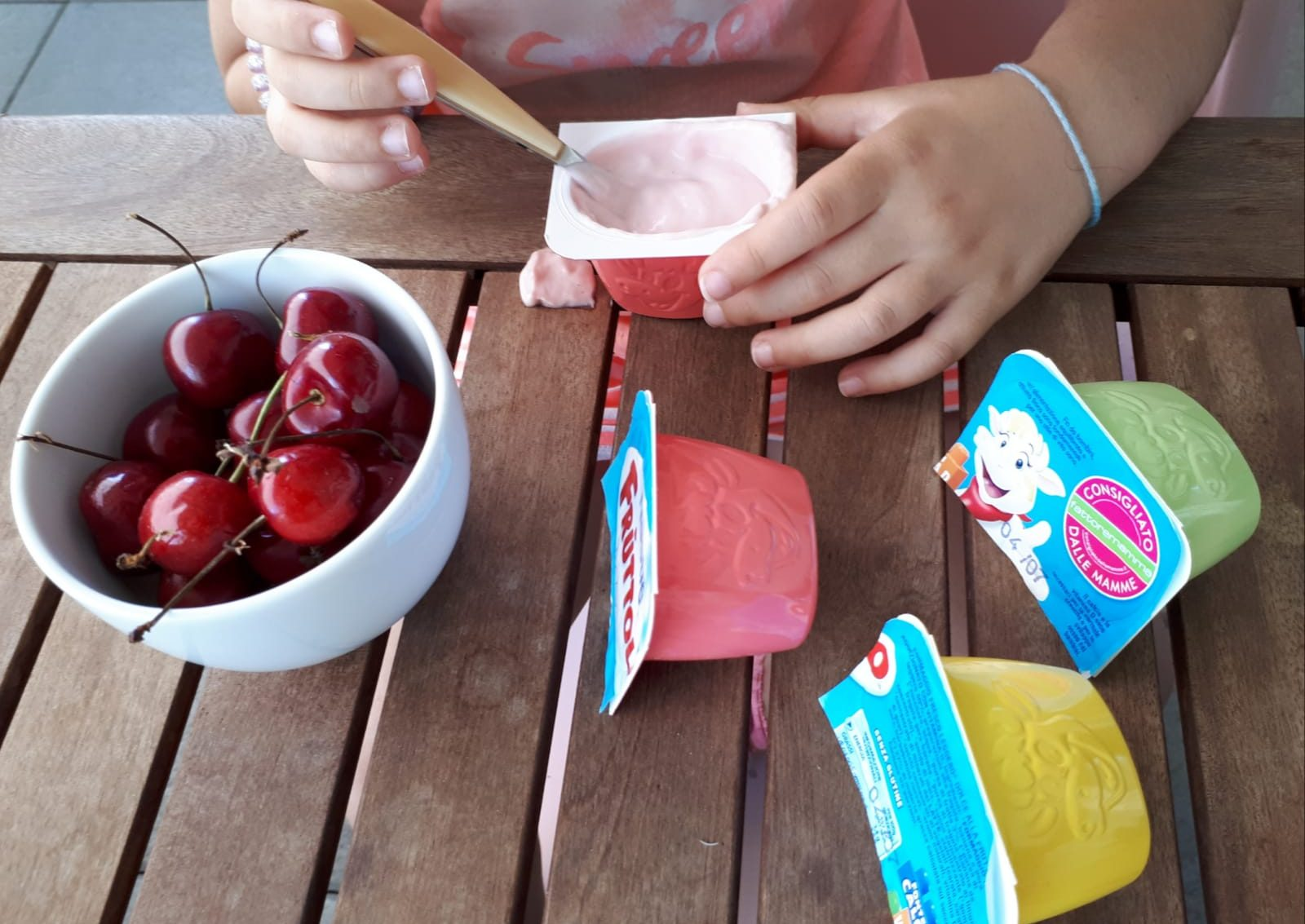 alimentazione bambini merenda fruttolo