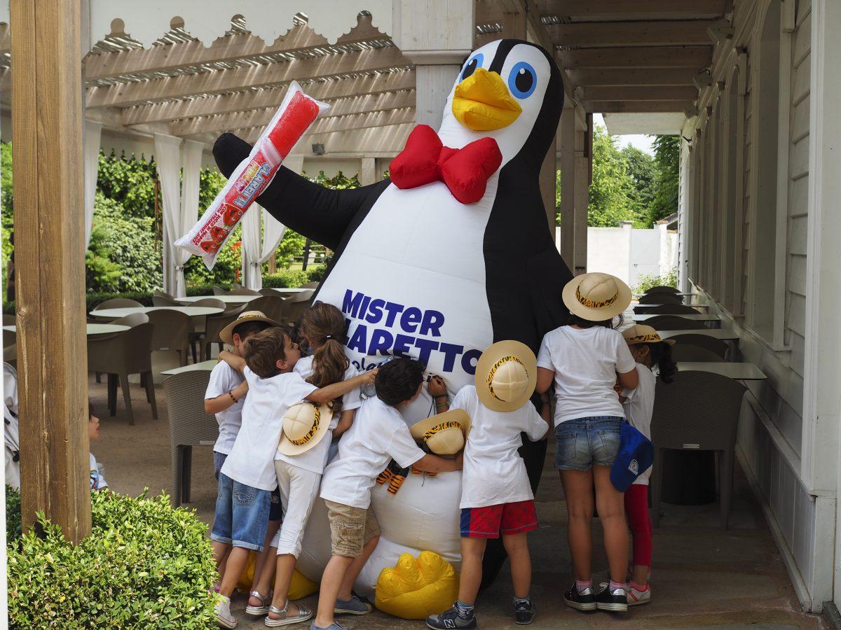 polaretti pinguino bambini
