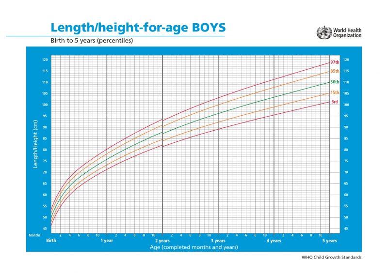 tabella altezza bambino dalla nascita ai 5 anni