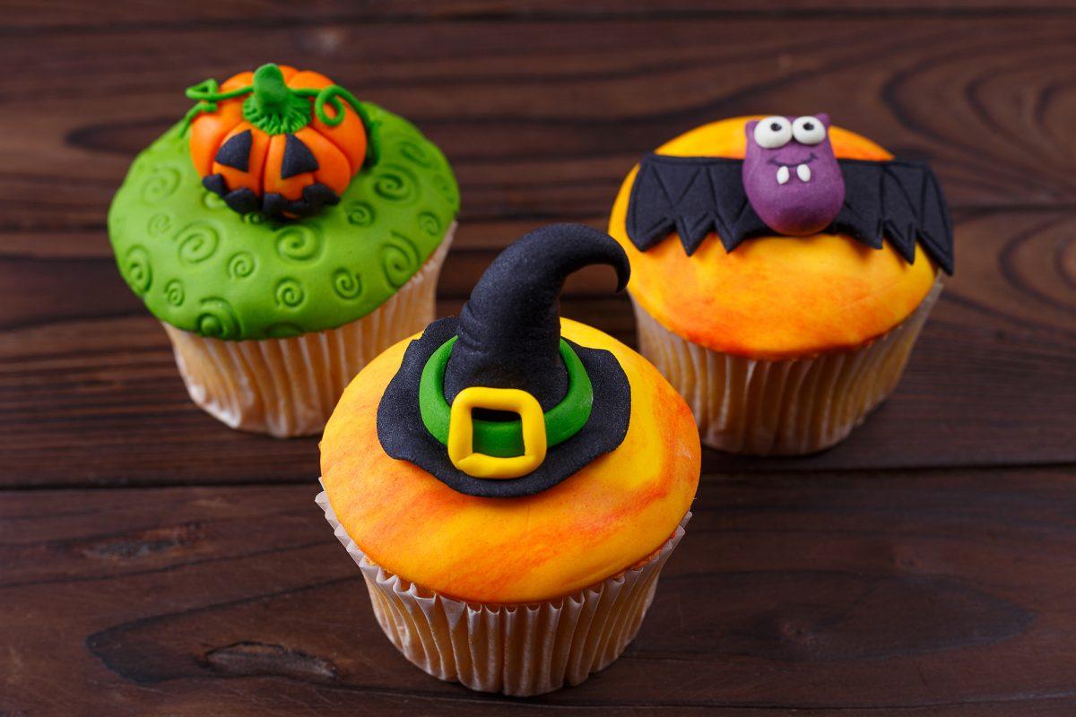 Cupcake di Halloween da fare con i bambini