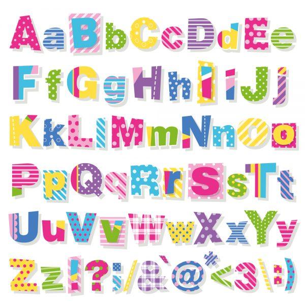 alfabeto in inglese per bambini