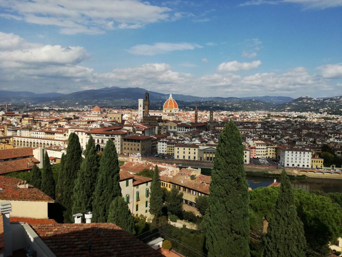 Firenze vista da Villa Bardini Enigma Pinocchio