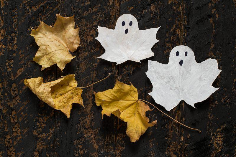 lavoretto di Halloween semplice per bambini