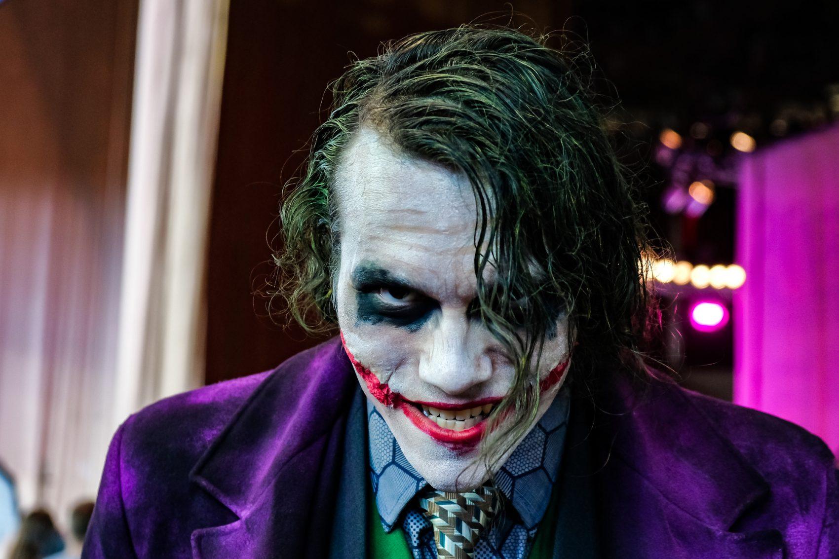 trucco da joker