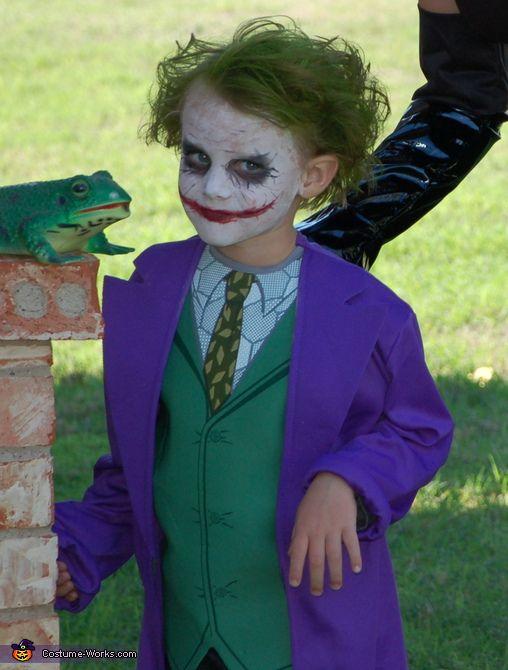 trucco da Joker per bambini