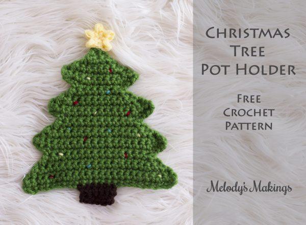 albero di Natale a uncinetto