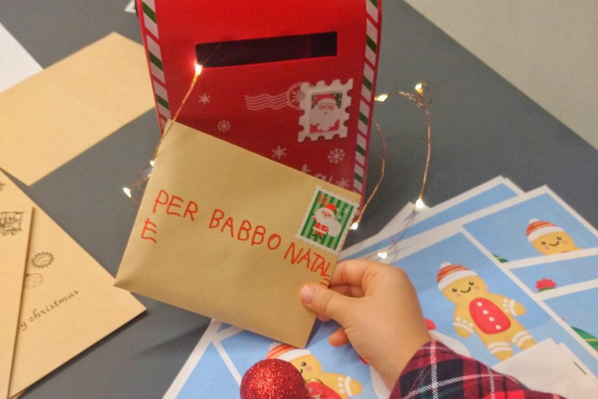 Audible regalo per natale bambina inbuca lettera babbo natale