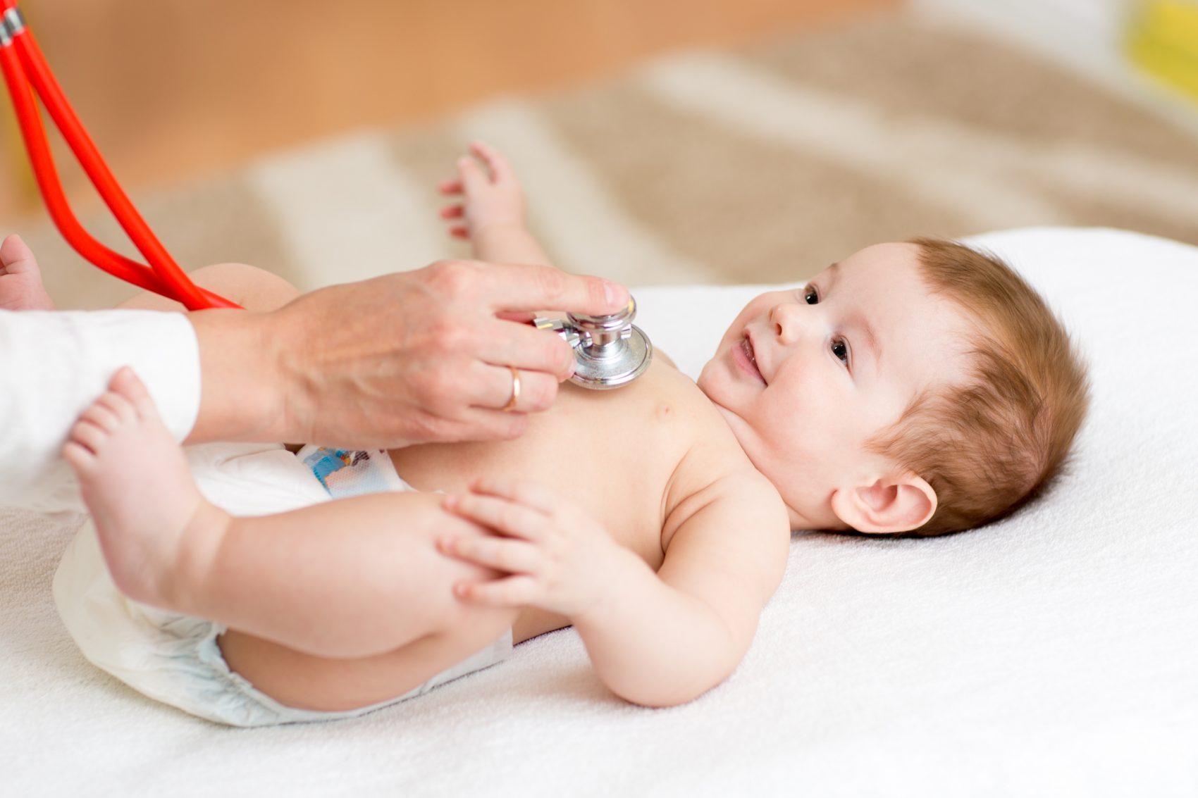 Prima visita dal pediatra