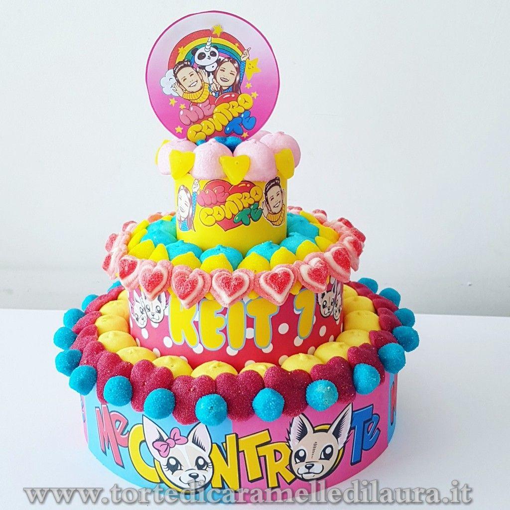 torte di compleanno Me contro Te_ caramelle