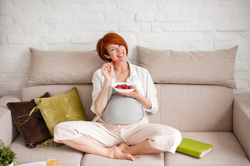 Fragole in gravidanza
