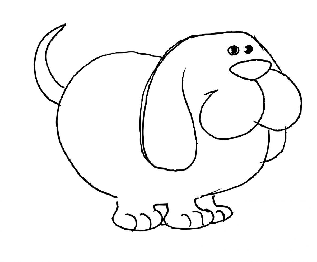 disegni con i pastelli a cera pinguino