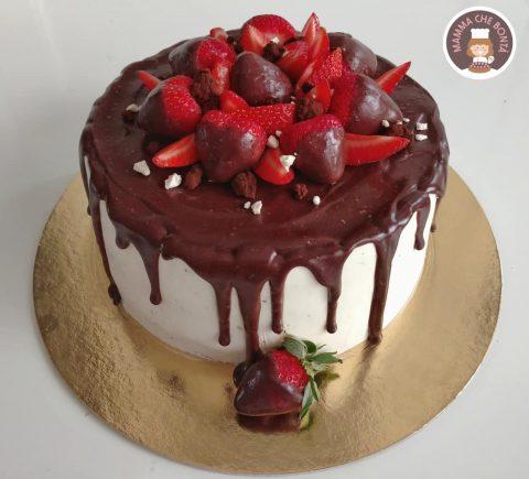 dolci per la festa del papà da fare con i bambini _drip cake mamma che bontà