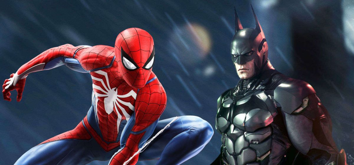 Spiderman e Batman