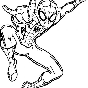 Disegni da colorare Spider-Man