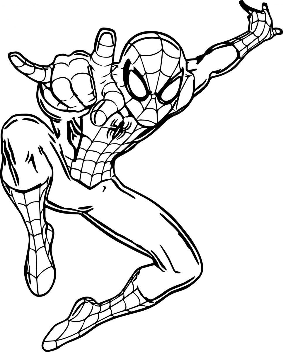 Disegni da colorare Spider-Man