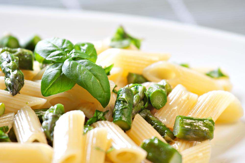 pasta asparagi zucca e parmigiano