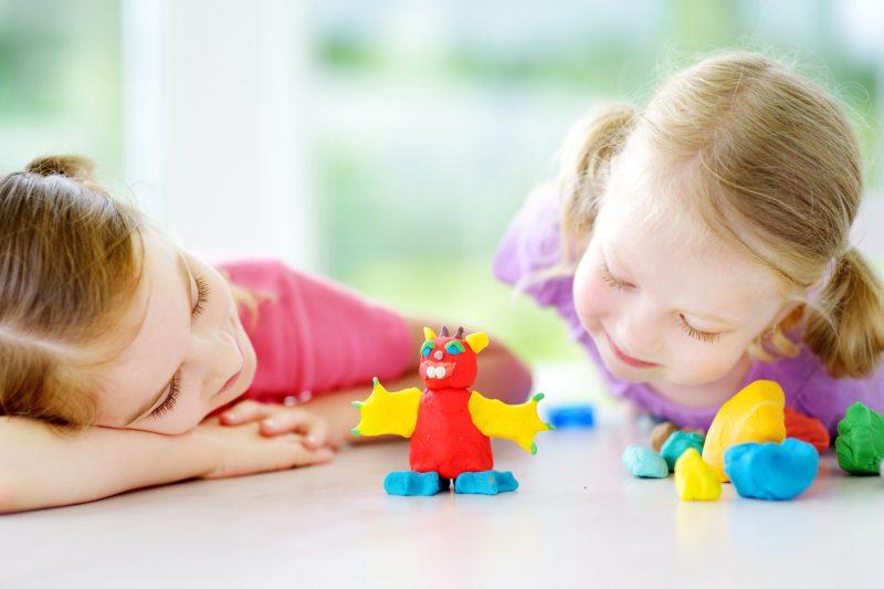 Ricetta per fare il didò in casa_ bambine creano un mostro con didò